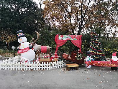 遊園地クリスマスイベント