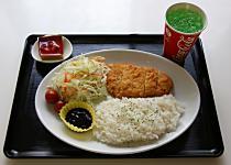 日替わりプレートランチ<br/>(ジュース・デザート付)